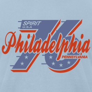 Philadelphia Spirit American Apparel T-Shirt - Men's T-Shirt by American Apparel