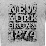 Design ~ New York Bronx 1874 (black)