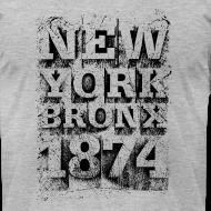 Design ~ New York Bronx 1874 (black)