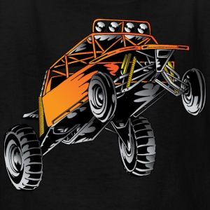 Orange Race Desert Buggy Kids' Shirts - Kids' T-Shirt