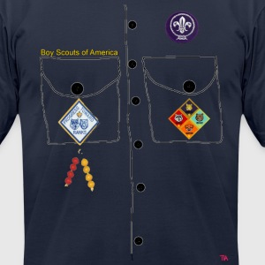 scout Halloween costume - Men's T-Shirt by American Apparel