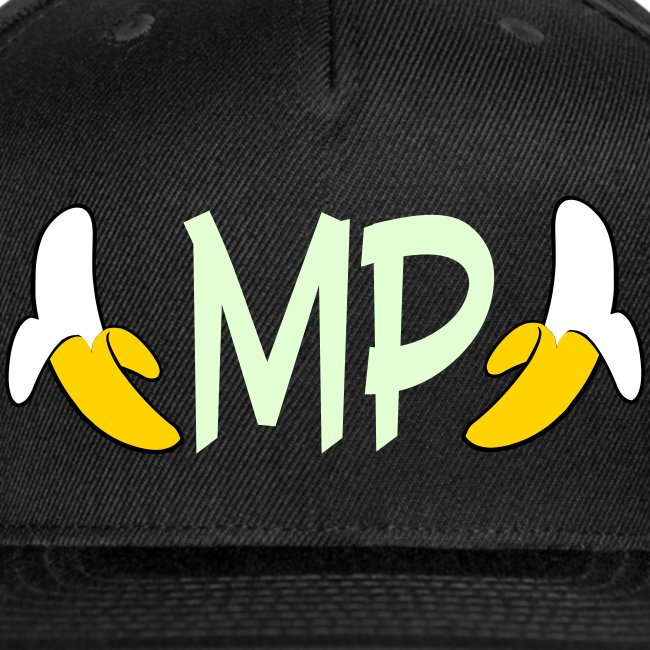 Monkey Pickles MP Double Banana Glow-in-the-dark Hat