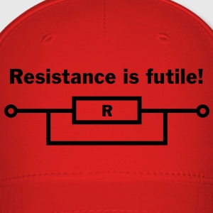 Resistance is futile! Caps - Baseball Cap