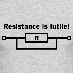 Resistance is futile! Long Sleeve Shirts