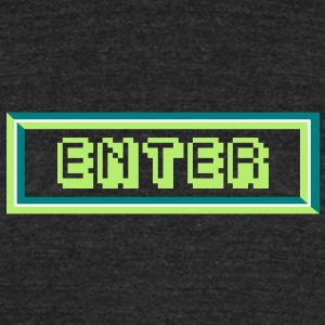 Enter T-Shirts - Unisex Tri-Blend T-Shirt by American Apparel