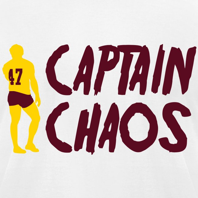 """Captain Chaos"" Men's Tee - White"