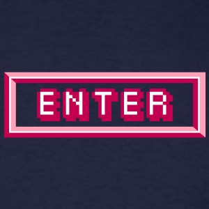 Enter T-Shirts - Men's T-Shirt
