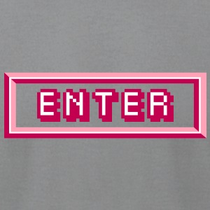Enter T-Shirts - Men's T-Shirt by American Apparel
