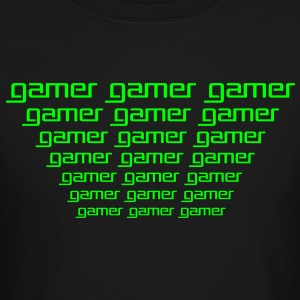 Gamer gamer Long Sleeve Shirts - Crewneck Sweatshirt
