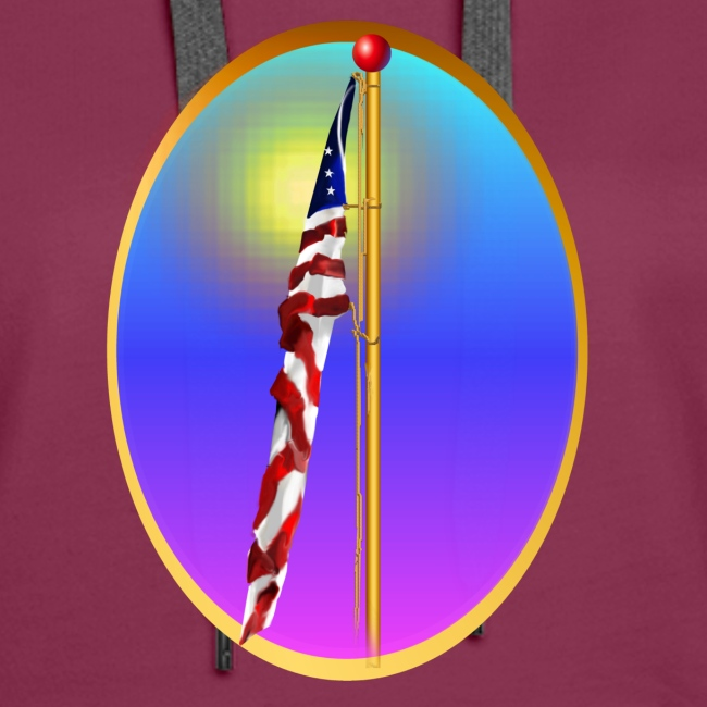 The Star Spangled Banner Oval