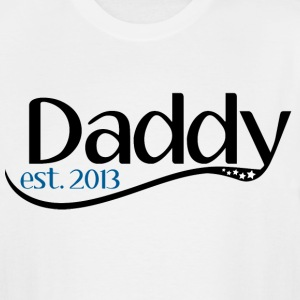 New Daddy 2013 - Men's Tall T-Shirt