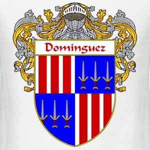 Domínguez Coat of Arms/Family Crest - Men's T-Shirt