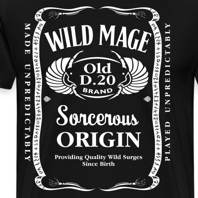 Wild Mage Men's Premium T-Shirt