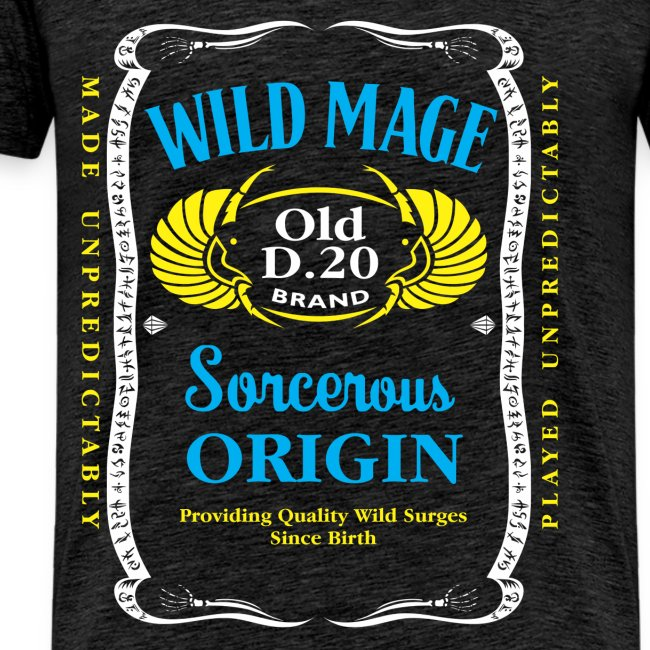 Wild Mage tricolor Men's Premium T-Shirt