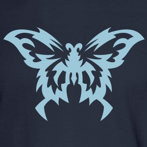 Butterfly Tribal Tattoo 8 Long Sleeve Shirts - Men's Long Sleeve T-Shirt