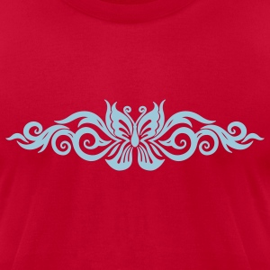 Butterfly Tribal Tattoo 10 T-Shirts - Men's T-Shirt by American Apparel