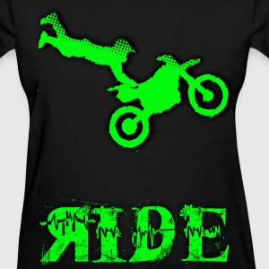 RIDE Motocross design Women's T-Shirts - Women's T-Shirt