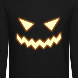 Pumpkin Long Sleeve Shirts - Crewneck Sweatshirt
