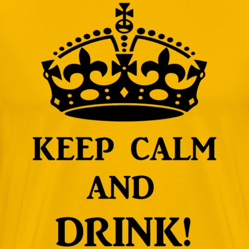 keep calm drink blk