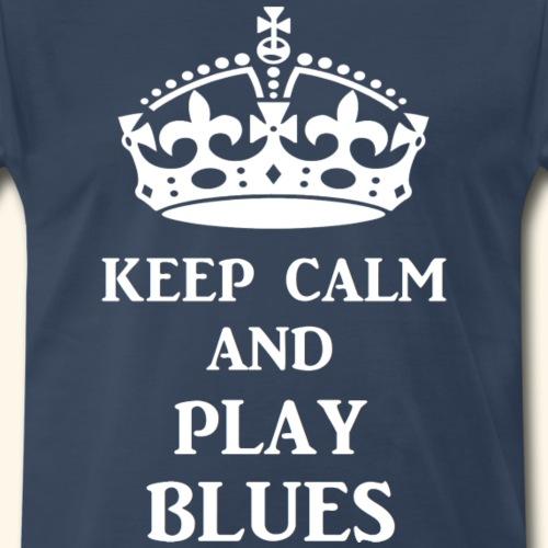keep calm play blues wht