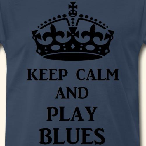 keep calm play blues blk