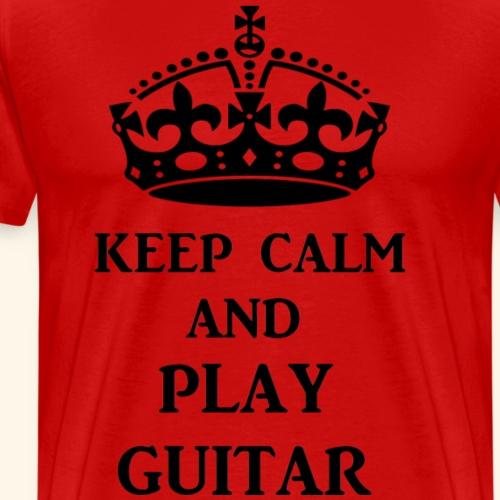 keep calm play guitar blk
