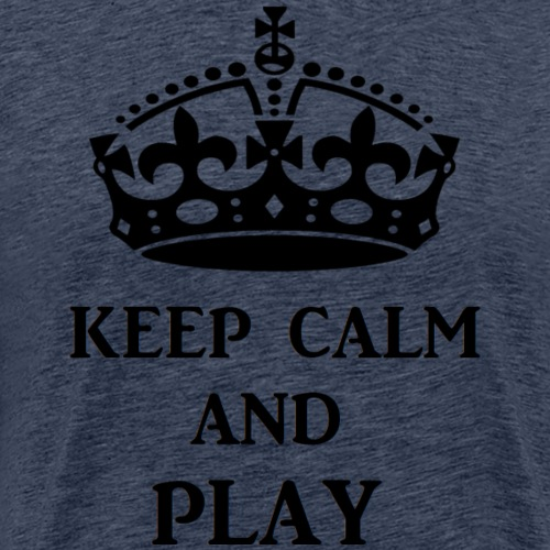 keep calm play blk