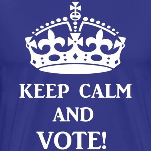 keep calm vote wht