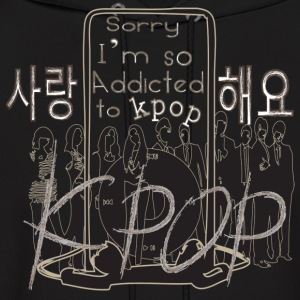 Love kpop Men's Hooded Sweatshirt - Men's Hoodie