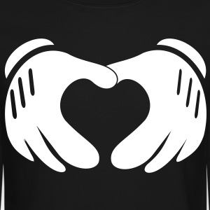 heart_hands - Crewneck Sweatshirt