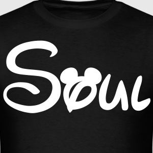 soul mate Mickey Mouse - Men's T-Shirt