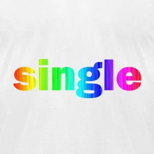 Single - Men's T-Shirt by American Apparel