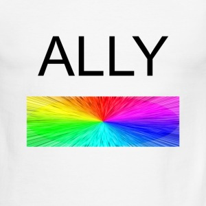 Ally - Men's Ringer T-Shirt