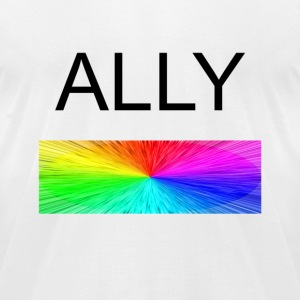 Ally - Men's T-Shirt by American Apparel