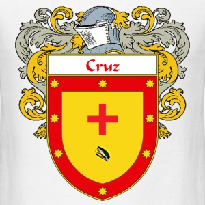 Cruz Coat of Arms/Family Crest - Men's T-Shirt