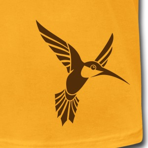 Bird Tribal Tattoo 1 T-Shirts - Men's T-Shirt by American Apparel