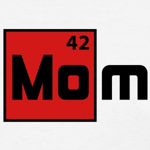 MOM - Mother Periodic Elements Design T-Shirt RB - Women's T-Shirt