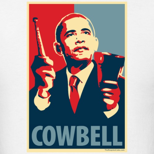 Cowbell: parody of Obama poster
