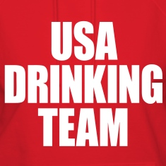 USA Drinking Team Hoodies - stayflyclothing.com