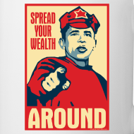 Design ~ Spread your wealth around - mug