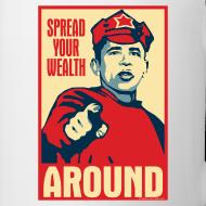 Design ~ Spread your wealth around - mug