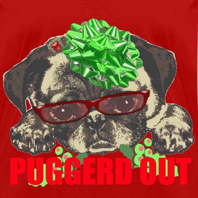 Puggerd out pug pup