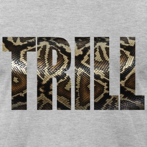 Trill - Snake Skin T-Shirts - Men's T-Shirt by American Apparel