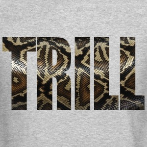 Trill - Snake Skin Long Sleeve Shirts - Crewneck Sweatshirt