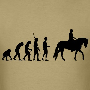 Evolution Horse - Men's T-Shirt