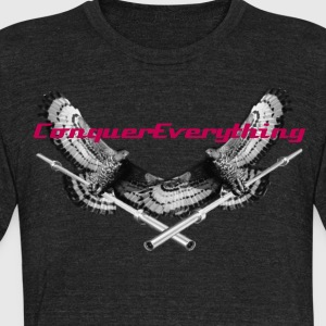 Winged Barbell - Unisex Tri-Blend T-Shirt by American Apparel