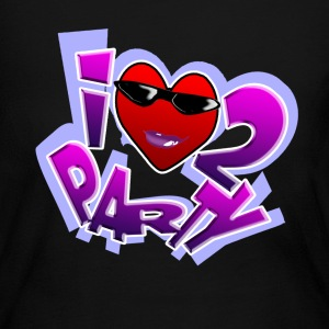 I Love To Party long sleeve shirt. TM - Women's Long Sleeve Jersey T-Shirt