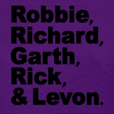 The Band Robbie Richard Garth Rick Levon Women's T-Shirts