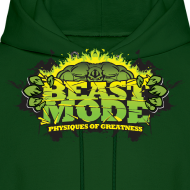 Design ~ Beastmode Beast Green HOODIE