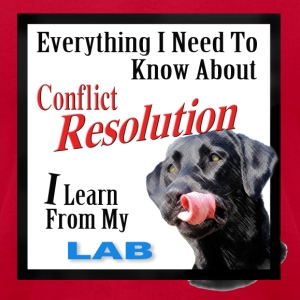 Lab Conflict Resolution - Men's T-Shirt by American Apparel